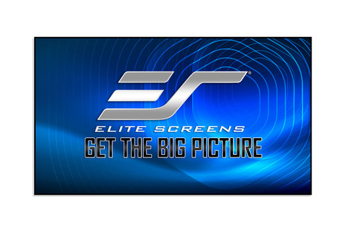 Elite Screens Aeon CLR 2 Edge Free 8K/4K 16:9 Fixed Frame Projection Screen
