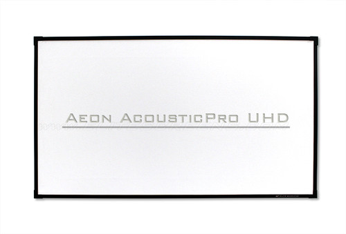 "Elite Screens Aeon AcousticPro UHD Edge Free 16:9 Fixed Frame Projection Screens (100""-150"")"