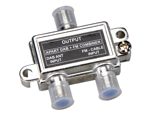 Apart DAB-FM Combiner For DAB Compatible Tuners