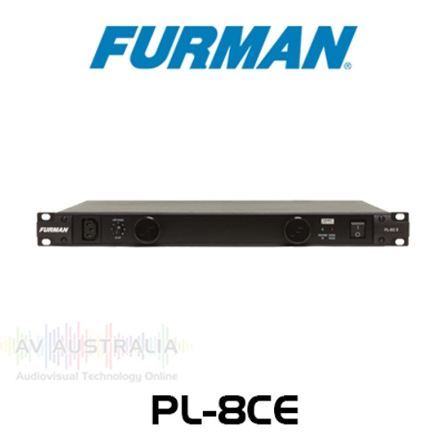 Furman Classic PL-8CE 10 Amp 11-Outlet Power Conditioner with Lights