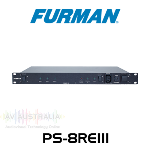 Furman PS-8REIII 10 Amp Power Sequencer & Conditioner