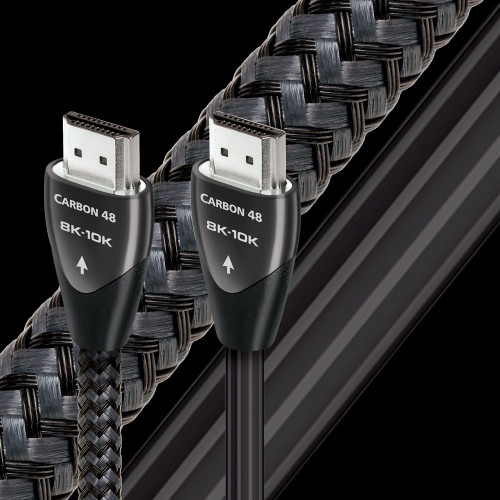AudioQuest Carbon 8K/10K 48Gbps HDMI Cable