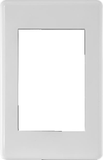 Pro.2 MWI13 Modular Wallplate Frame
