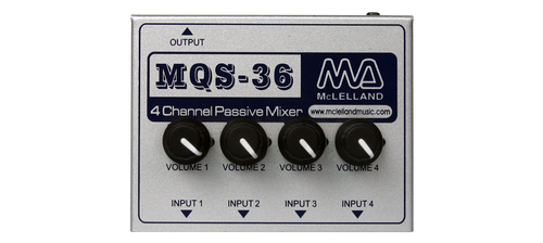 McLelland MQS-36 4 Channel Mono Passive Mixer