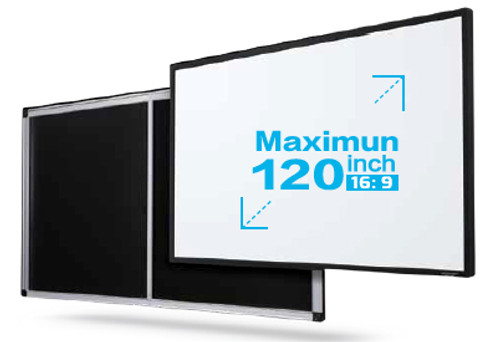 "Grandview Edge 8K Premium Fixed Frame Projection Screens (92""-150"")"
