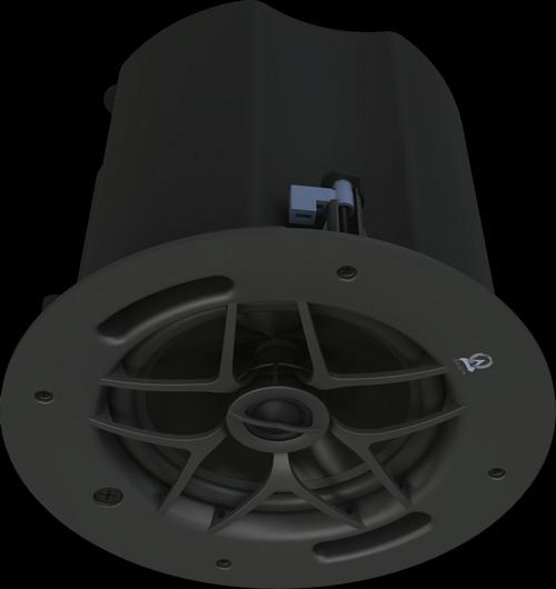 """Origin Acoustics Commercial PC80 8"""" 70/100V In-Ceiling Speakers (Pair)"""