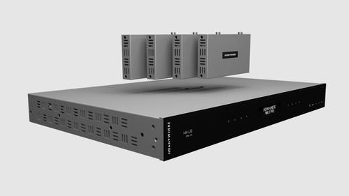 HDAnywhere MHUB Pro 2.0 4x4 4K HDR HDMI 2.0 HDBaseT 2.0 Matrix Switcher (40m)