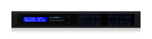 BluStream MFP62 6 Input 2 Output Multi-Format Presentation Switch