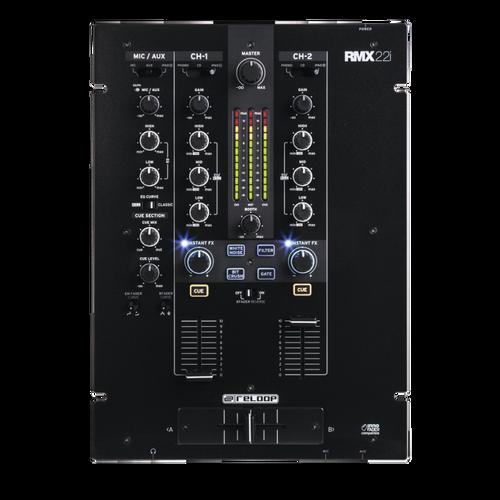 Reloop RMX-22i 2+1-Ch Digital Effect DJ Mixer