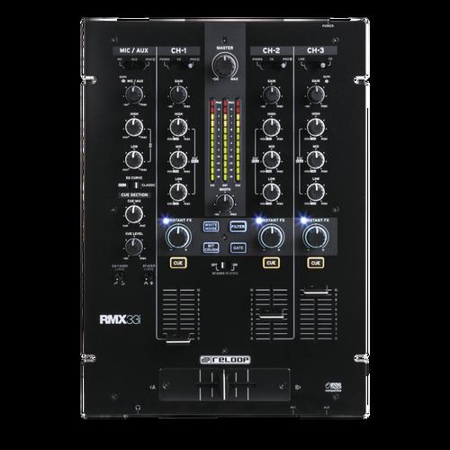 Reloop RMX-33i 3+1-Ch Digital Effect DJ Mixer