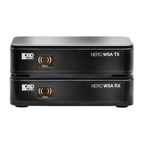 OSD Black NERO-WSA Wireless Subwoofer Transmitter & Receiver Kit