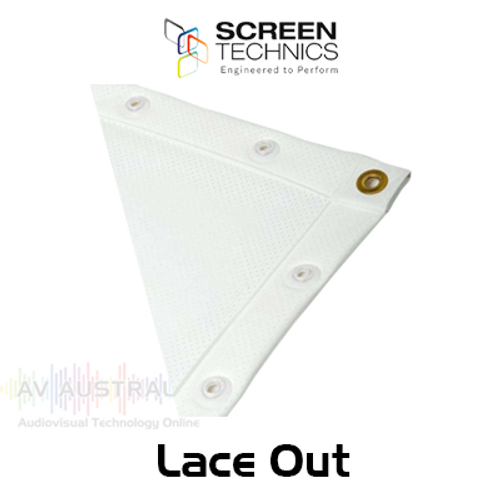 ST Lace Out Welded PVC Projection Screens
