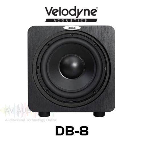 "Velodyne Deep Blue 8"" 300W Forward Firing Sealed Active Subwoofer (Each)"