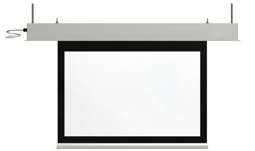 "ST MasterFit Matt White Below Ceiling Motorised Projection Screens (84""-220"")"
