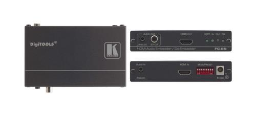 Kramer FC-69 4K60 4:2:0 HDMI Audio Embedder / De-Embedder