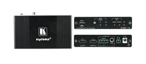 Kramer FC-46H2 4K HDR 4:4:4 HDMI Audio De-Embedder