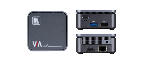 Kramer VIA Go2 4K 2-Simultaneous Wireless Presentation Device