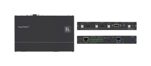 Kramer DIP-20 4K HDMI & VGA Auto Switcher Over PoE HDBaseT Transmitter