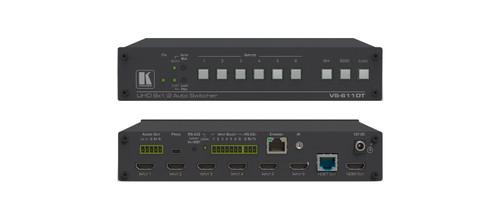 Kramer VS-611DT 6x1:2 4K60 4:2:0 HDMI Auto Switcher & PoE Provider over HDBaseT