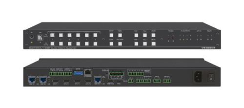 Kramer VS-622DT 4x 4K HDMI 2x HDBaseT Presentation Switcher / Scaler with PoE HDBaseT Output