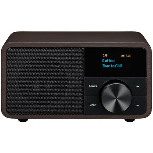 Sangean DDR-7 DAB+/FM/Bluetooth Wooden Mini Radio Receiver