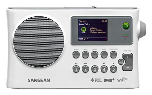 Sangean WFR-28C Internet Radio / DAB+ / FM-RDS / USB / Network Music Player Digital Receiver