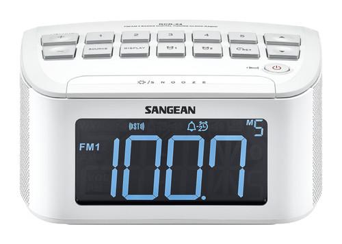 Sangean RCR-24 FM/AM Aux-In Digital Tuning Clock Radio
