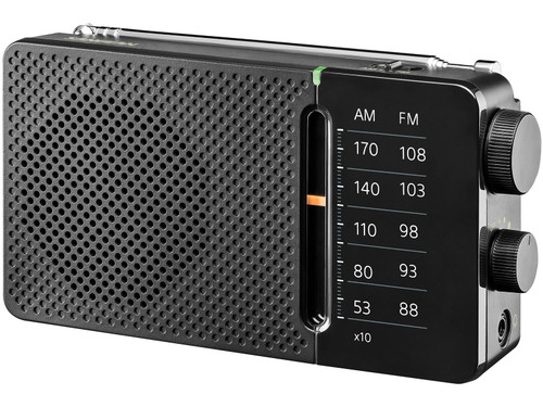 Sangean SR-36 FM/AM Pocket Radio with Built-In Speaker