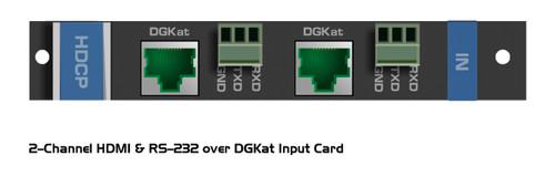 Kramer I/O Cards For VS-1616DN-EM 16x16 Modular Matrix Switcher