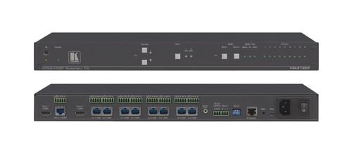 Kramer VM-218DT 2x1:8 4K 4:2:0 HDMI To HDBaseT w/ IR, RS-232 & Stereo Audio Switchable DA