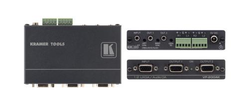 Kramer VP-200AK 1:2 VGA Distribution Amplifier with Audio