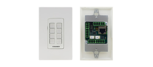 Kramer RC-308 8-Button PoE I/O Control Keypad