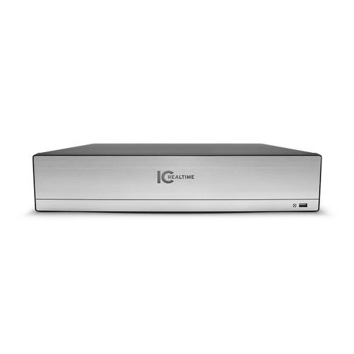 IC Realtime 4K 16-Ch 8MP 8-Bay H.265+ 2U NVR