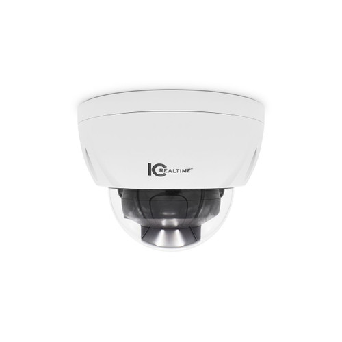 IC Realtime 2MP 1080P 2.8-13.5mm Varifocal Outdoor Vandal PoE Dome Network Camera
