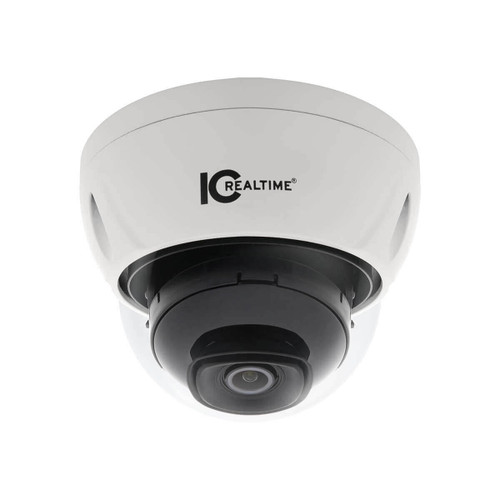 IC Realtime 2MP 1080P 2.8mm Lens Outdoor Vandal PoE Dome Network Camera