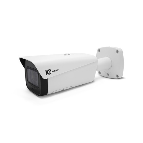 IC Realtime 2MP 1080P 5.3-64mm Varifocal Outdoor Vandal PoE Bullet Network Camera