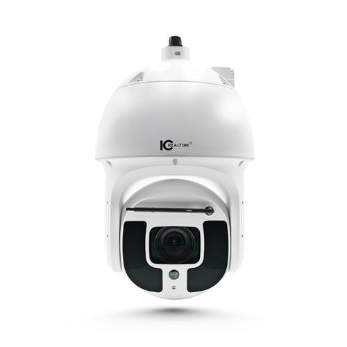 IC Realtime 8MP 4K 5.6-223mm Varifocal 40x PTZ Hi-PoE Network Camera