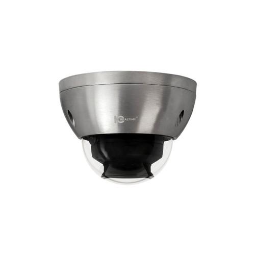 IC Realtime 2MP 1080P 4.1-16.4mm Varifocal 4x Vandal PoE Marine Dome IP Camera