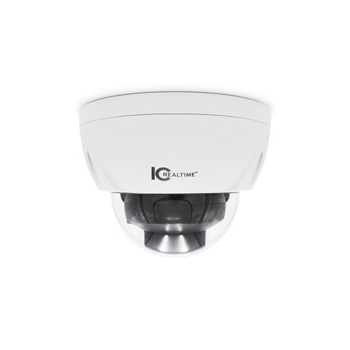 IC Realtime 8MP 4K I-SnIPer 3.7-11mm Varifocal Outdoor Vandal HD-AVS Dome Camera