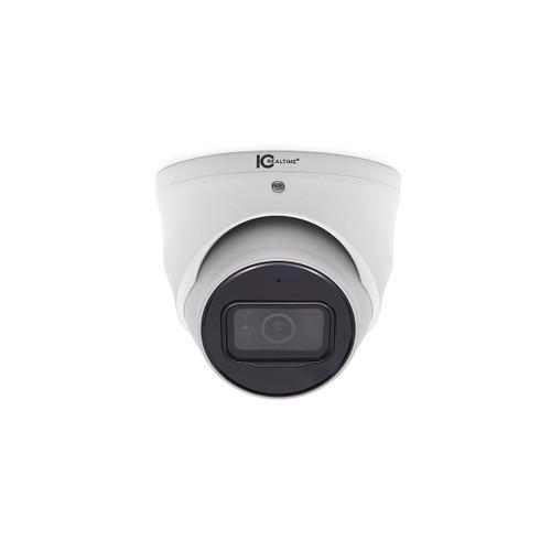 IC Realtime 8MP 4K 2.8mm Lens Outdoor HD-AVS Eyeball Dome Camera