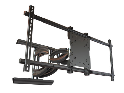 """Mustang Pro MPA-XHD86U Articulating Dual Arm Wall Mount For 60"""" - 98"""" Displays"""