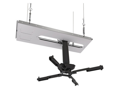 """Mustang Pro MPJ-2KS11A Suspended Ceiling Projector Kit (6""""-11"""" / 18""""-24"""" Drop)"""