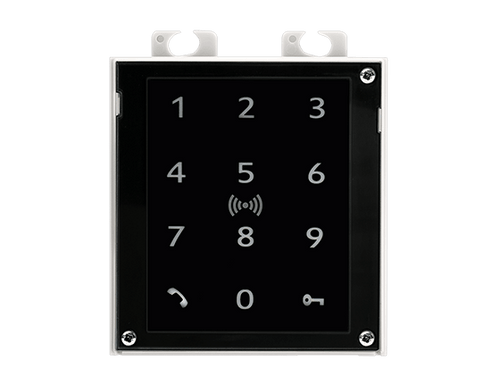2N IP Verso Touch Keypad & RFID Reader (125kHz, 13.56MHz, NFC) Module