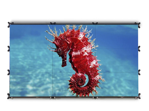 """Barco UniSee 500 55"""" Full HD Bezel-Less 24/7 Video Wall Display with Mount"""