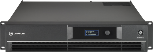 Dynacord L1800FD 2 x 950W FIR Drive DSP Power Amplifier