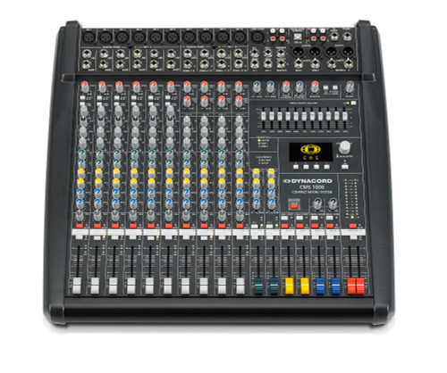 Dynacord CMS1000-3 10-Channel Compact Mixer