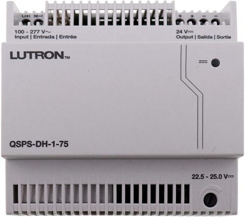 Lutron HomeWorks QS 24 VDC Din Rail Power Supply