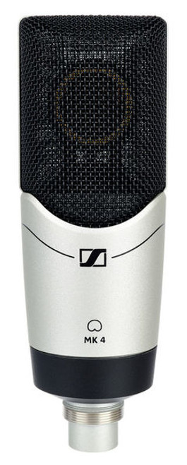 Sennheiser MK4 Large Diaphragm Cardioid Condenser Studio Microphone