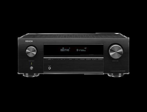 Denon AVR-X250BT 5.1-Ch 4K HDR AV Receiver with Bluetooth