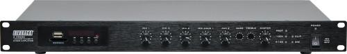 Redback 240W 100V Class D Bluetooth Public Address Mixer Amplifier